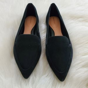 NEW! Taryn Rose Faye Flat Suede Shoes Size 9.5